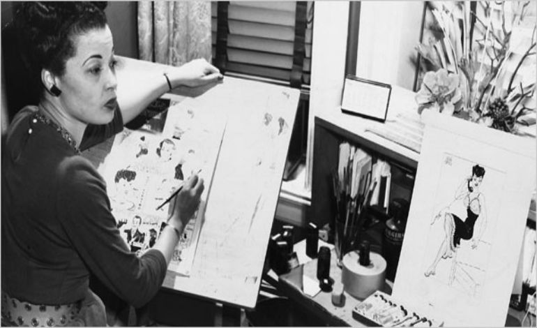 Jackie Ormes: creator of the Torchy Brown strip and the single-panel cartoon Patty-Jo 'n' Ginger.