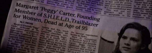 Agent Carter Obituary