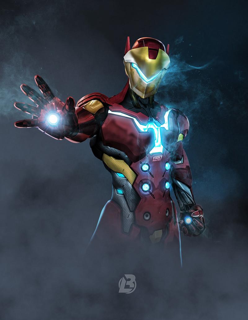 Cet Artiste A Transform Les Personnages DOverwatch En Personnage De Marvel GeekQcca