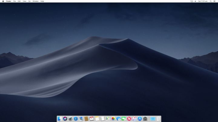 macOS Mojave Full Screen Resolution