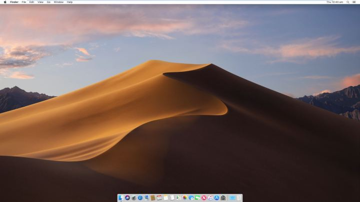 macOS Mojave Full Screen