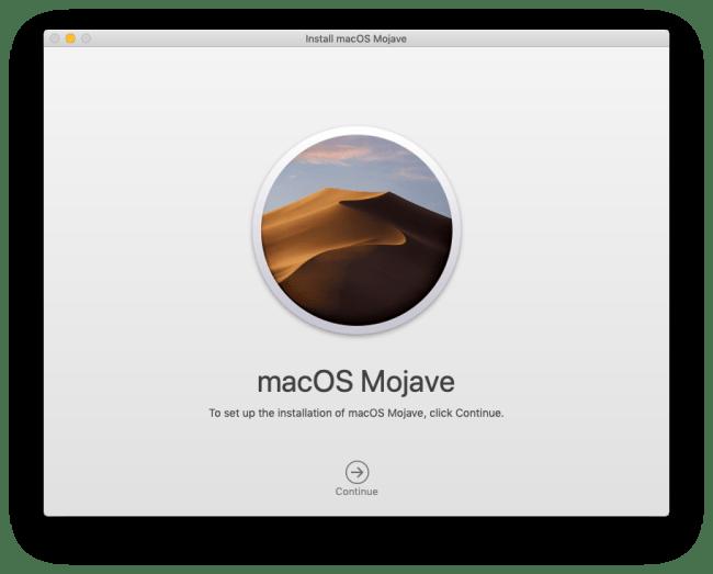 macOS Mojave Installer