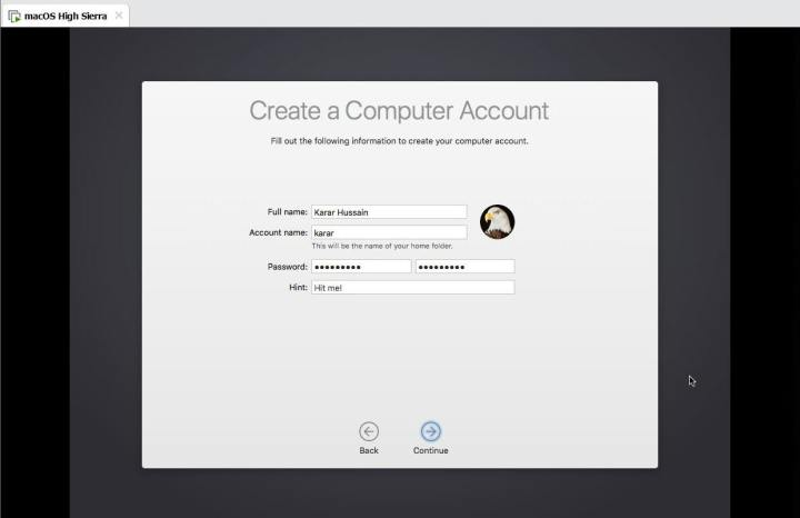 Create a Computer Account