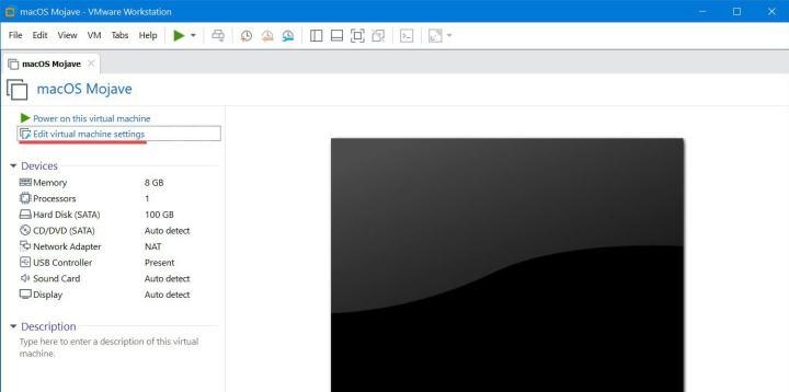 Edit Your Virtual Machine Settings