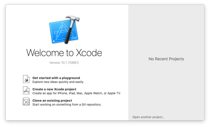 install xcode 10 mojave