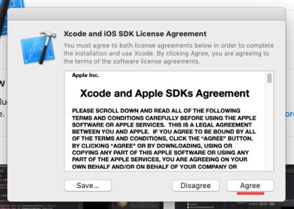 XCode & iOS SDK License Agreement