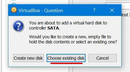 VirtualBox - Question