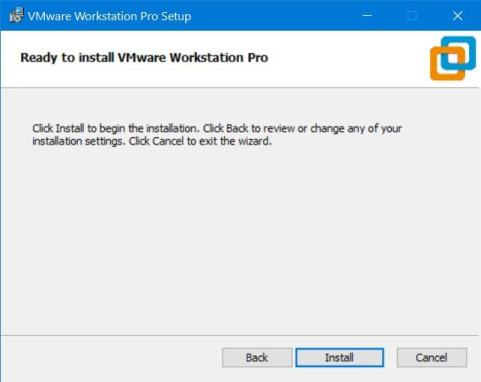 Install VMware Workstation Player