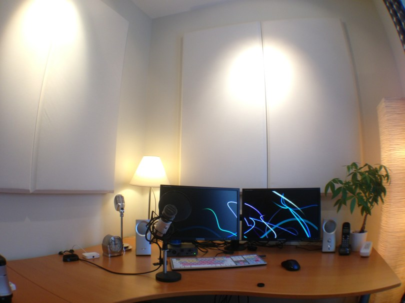 Desk Sound Absorption Panels from WaveAcoustic