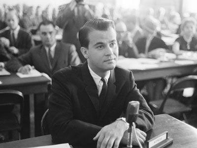 Dick Clark Smiles During House Hearing