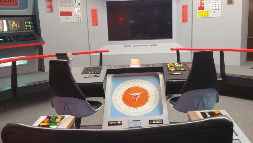 Star Trek Set Tour A Literal View From the Bridge