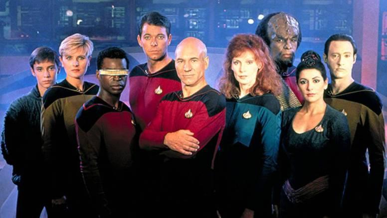 Star Trek TNG Season 1 Cast