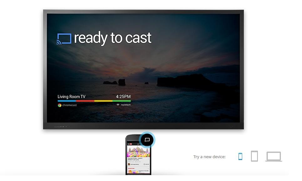 Google Chromecast - Ready to Cast - Juillet 2010
