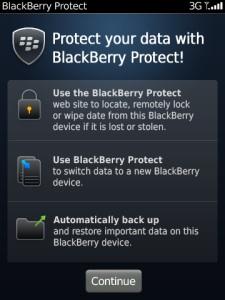 BlackBerry Protect 1 - BlackBerry 7