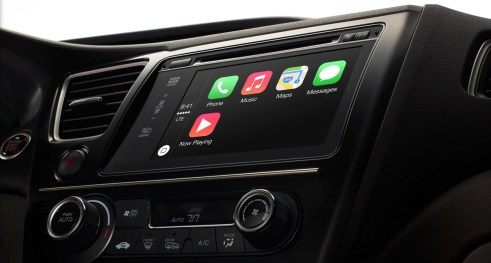 CarPlay Apple - Mars 2014