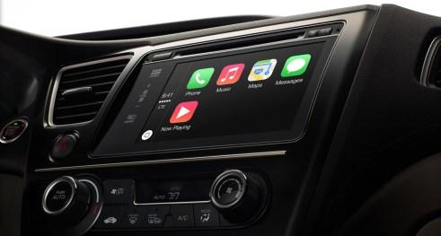 CarPlay Apple - Mars 2014