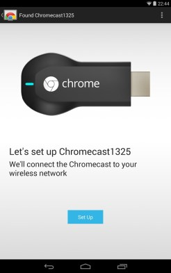 Application Google Chromecast Android 1