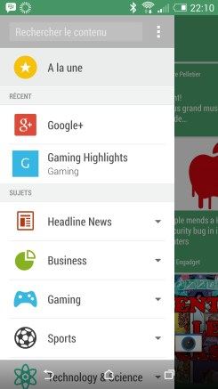 Blinkfeed - Test HTC One M8 - Geeks and Com 3