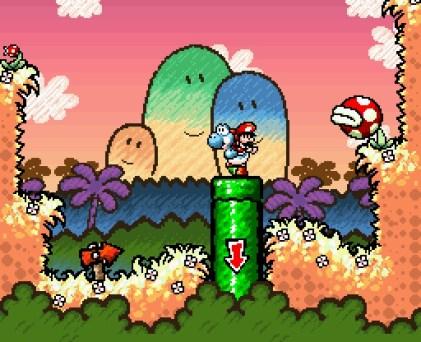 Yoshis New Island - Nintendo 3DS - Gameplay 5