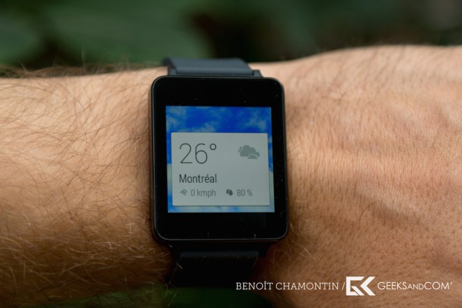 LG G Watch - Android Wear - Test Geeks and Com -7