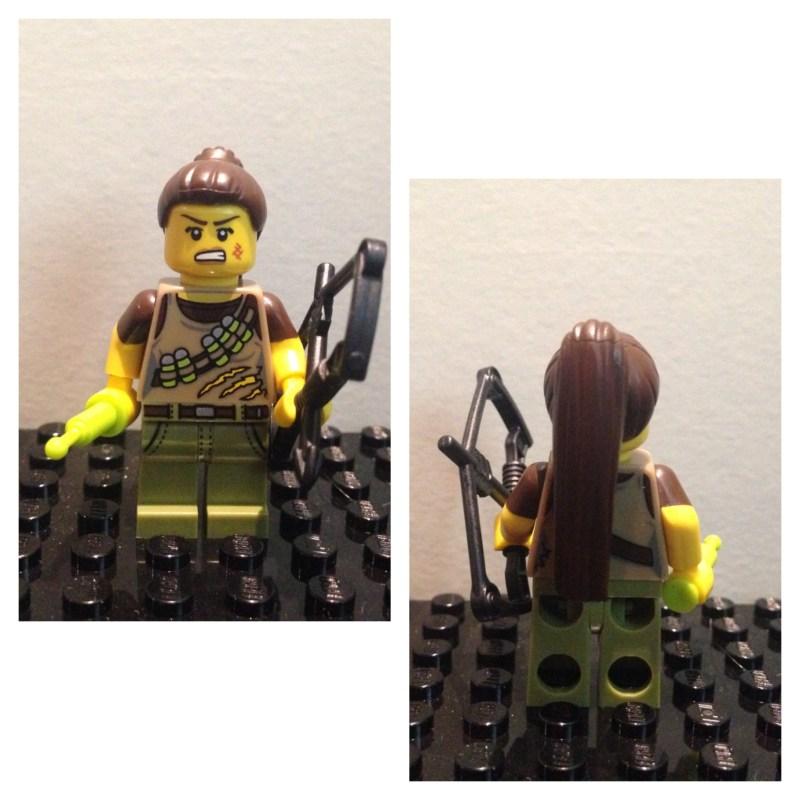 Chasseuse de dinosaures - Lego - Minifures - Serie 12