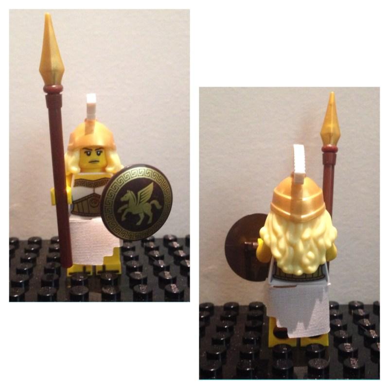 Deesse du combat - Lego - Minifures - Serie 12