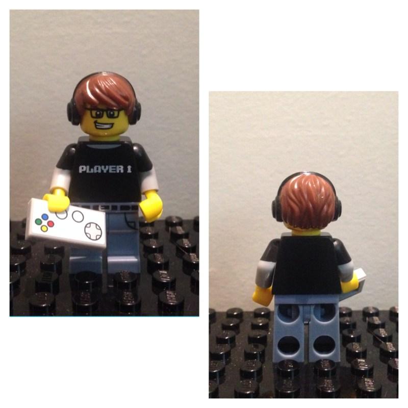 Joueur Jeux Video - Lego - Minifures - Serie 12
