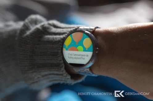 Motorola Moto 360 - Android Wear - Test Geeks and Com -7