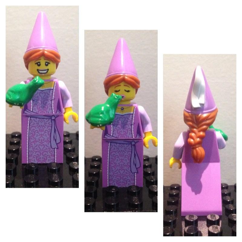 Princesse et  grenouille - Lego - Minifures - Serie 12
