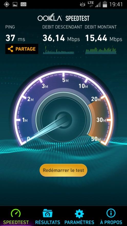 Speedtest Samsung Galaxy Note 3