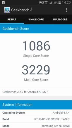 Samsung Galaxy Note 4 - Benchmark 02