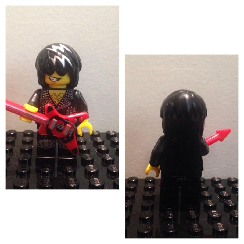 star du rock - Lego - Minifures - Serie 12