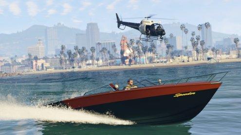 GTA V - Jet boat