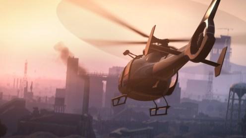 GTA V - Hélicoptère