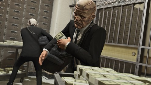 GTAV PS4 Heists braquages 1