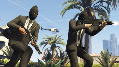 GTAV PS4 Heists braquages 4