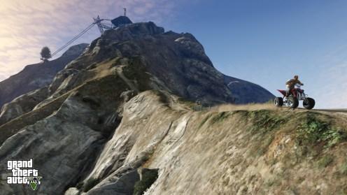 GTA V - Mount Chiliad