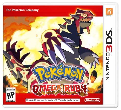 Pokemon Omega Ruby - Nintendo 3DS packaging