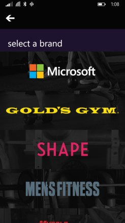 Application Mobile Microsoft Band 5