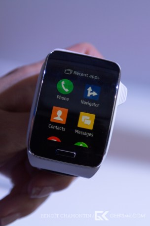 CES 2015 - Nokia Here - Android - Samsung Gear S-2