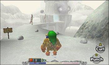 The Legend of Zelda Majoras mask 3d - Nintendo 3DS - Gameplay 3