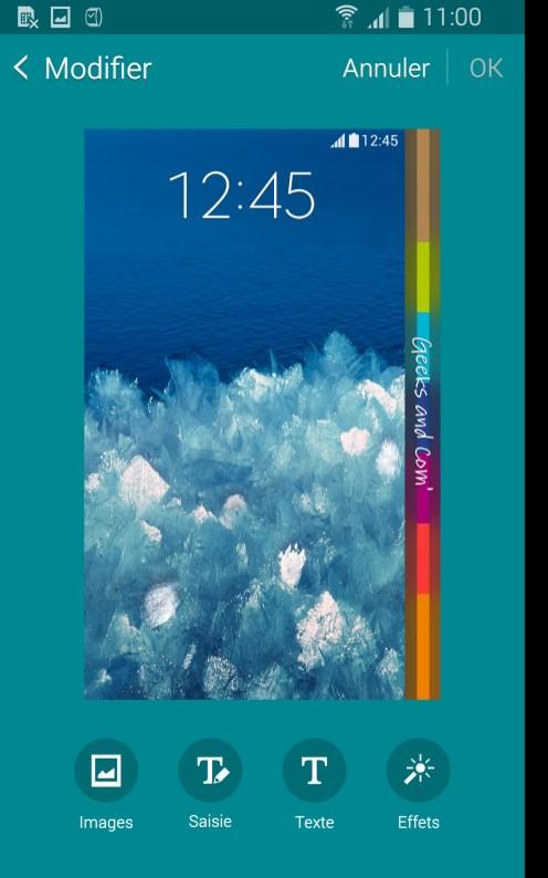 Samsung Galaxy Note Edge Personnalisation Mon Espace