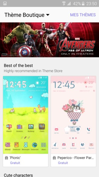 Samsung Galaxy S6 Themes 02