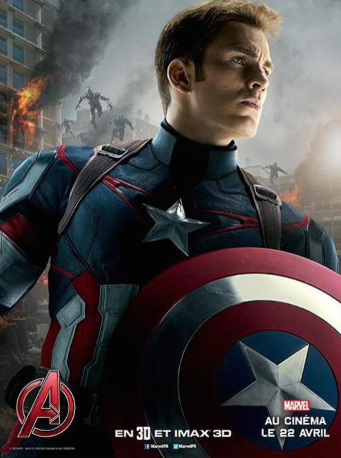 Marvel avengers ere ultron - Captain america