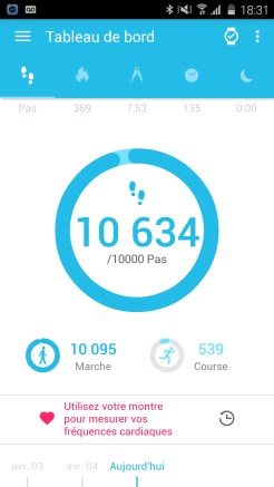 Alcatel Watch Application Mobile 03