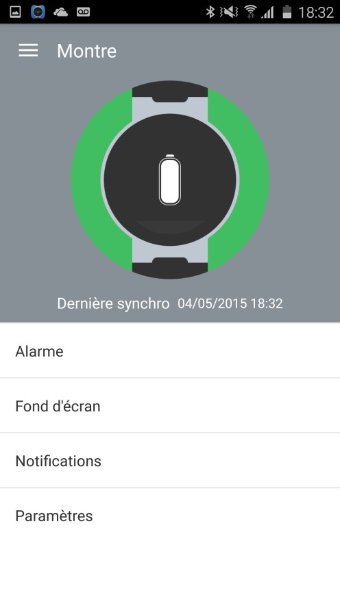 Alcatel Watch Application Mobile 09
