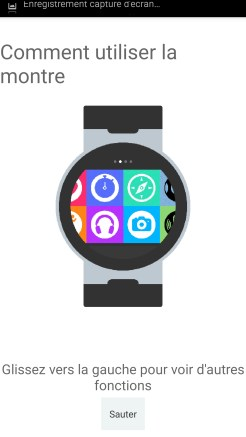Alcatel Watch Initialisation 04