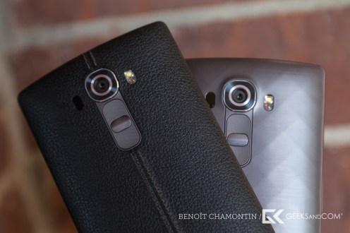 LG G4 (finition cuir et plastique)