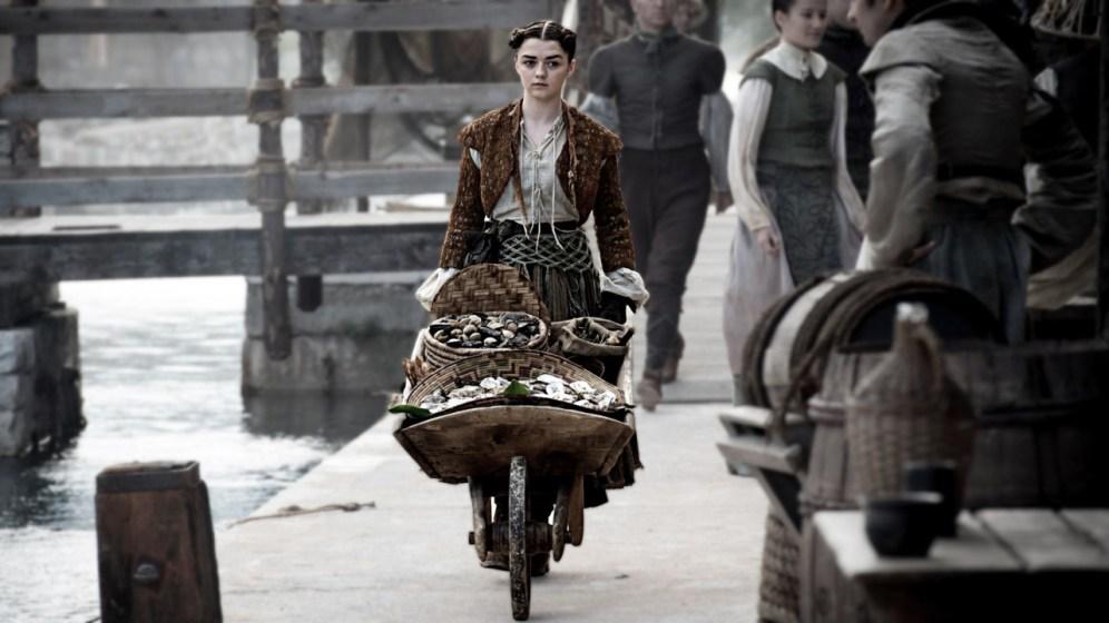 Arya Stark Game Of Thrones HBO