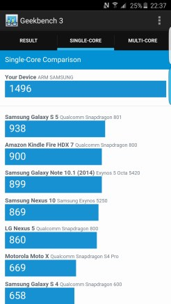 Geekbench 3 - Samsung Galaxy S6 edge plus - Geeks and Com 2